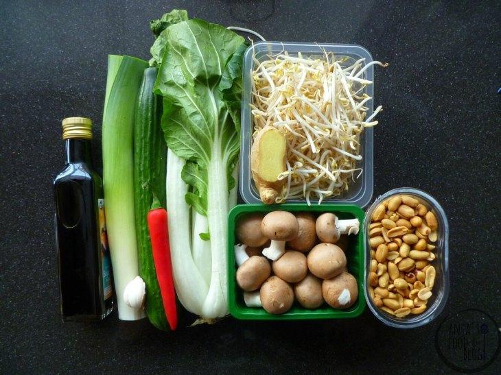 Aziatische wokschotel vegetarisch