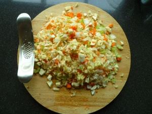 Vegetarische bolognese saus