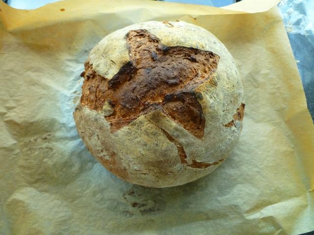 Volkorenbrood  met zaden en pitten