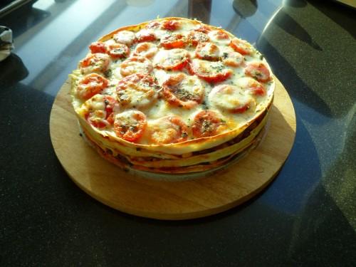 Tortilla taart (vegetarisch of met gehakt) - Anja's Foodblog