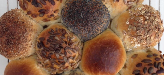 Breekbrood voor 12 broodjes