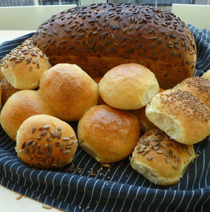 Broodjes zelf bakken