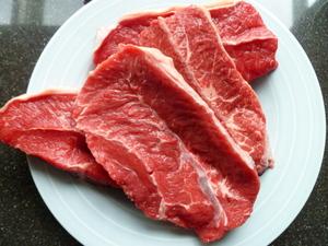 Langzaam gegaard rundvlees