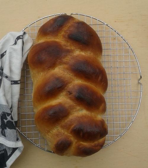 Wit vlechtbrood