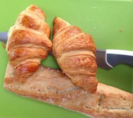 Typisch Frans ontbijtje