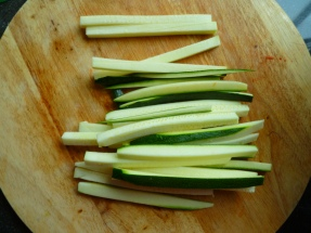 "Courgette ""frieten"""