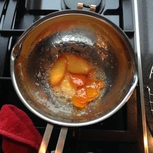 Gekonfijte sinaasappelschil
