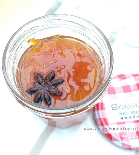 Sinaasappeljam met specerijen