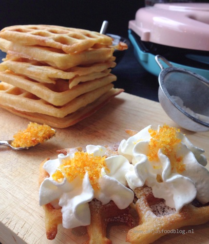 Suikervrije Belgische wafels