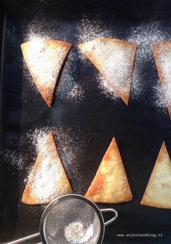 Zoete tortillachips