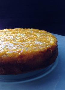 Upsidedown Sinaasappelcake