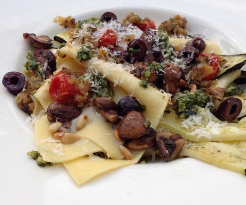 Vegetarische lasagne (3)