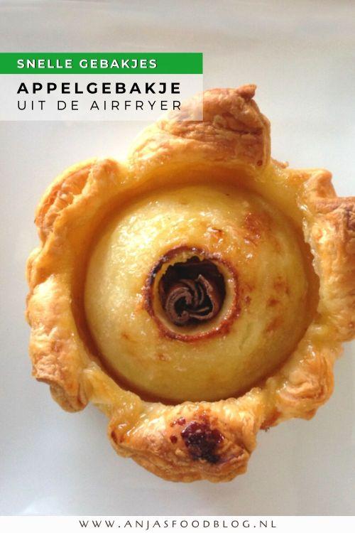 Onverwacht bezoek? In een half uurtje heb je deze gebakjes - met maar 4 ingrediënten - gemaakt. Het is super makkelijk en het voordeel van de Airfryer is toch echt dat hij snel voorverwarmd is. Wat baktijd betreft maakt het niet uit of je de Airfryer gebruikt of een gewone oven.