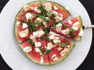 Hartige watermeloen