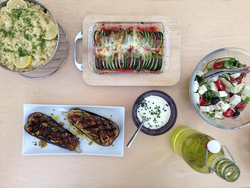 Een perfekte zomerse maaltijd