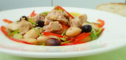 Limabonen Salade