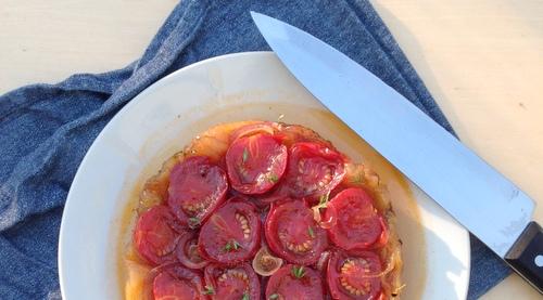 Tarte tatin tomaat (1)