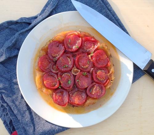 Tarte tatin tomaat (7)