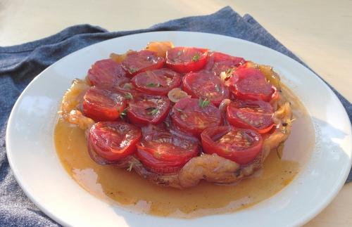 Tarte tatin tomaat (8)