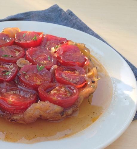 Tarte tatin tomaat (9)