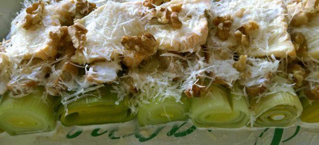 preischotel met kaas en noten