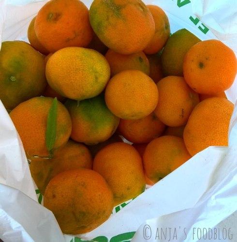 Spaanse mandarijnen