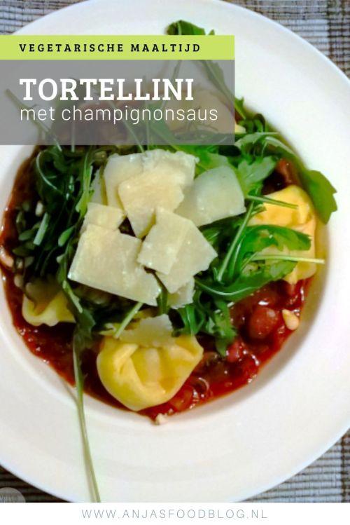 Tortellini met chapignonsaus