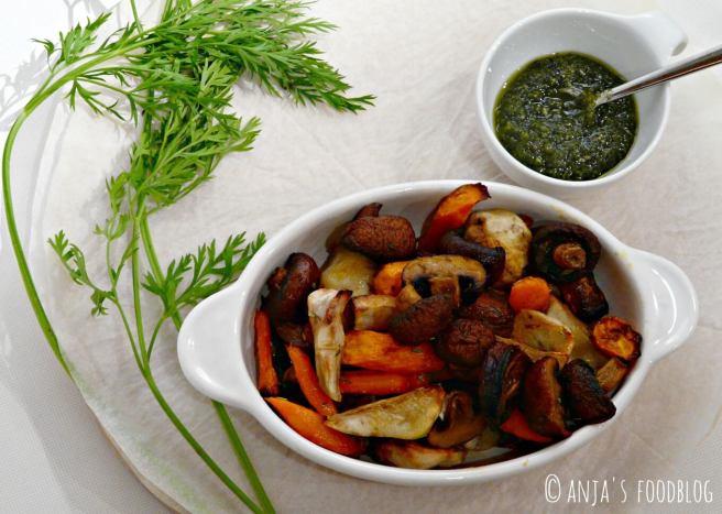 Vegetarische linzenschotel
