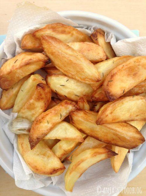 Aardappelfrieten uit de oven