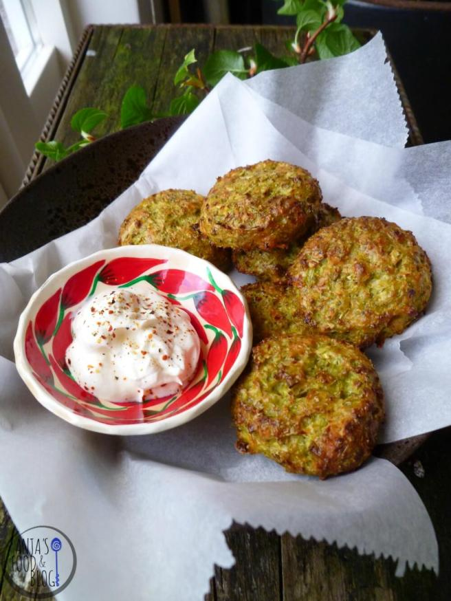 broccoli fritters.klein