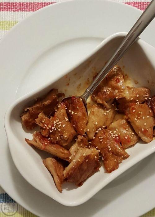 Vegetarische kipstukjes