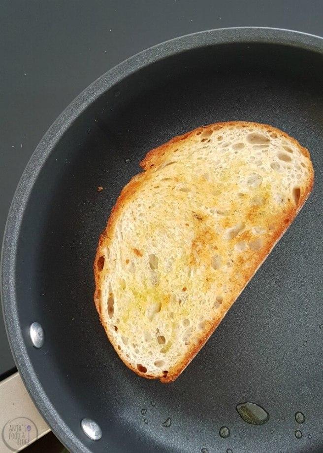 Geroosterd Brood Caprese