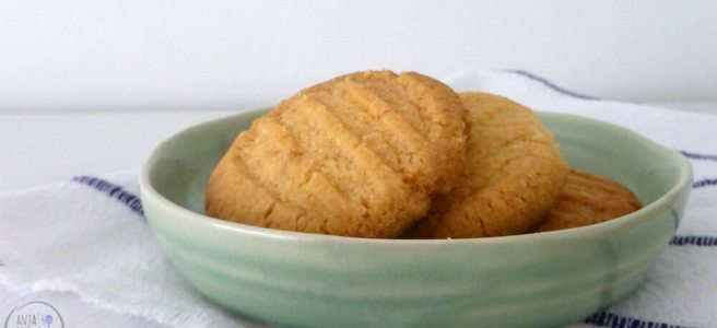 Vorkkoekje, een zandkoekje