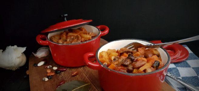 Bonenstoofpot zonder vlees