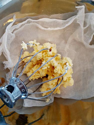 Zelf boter maken van slagroom