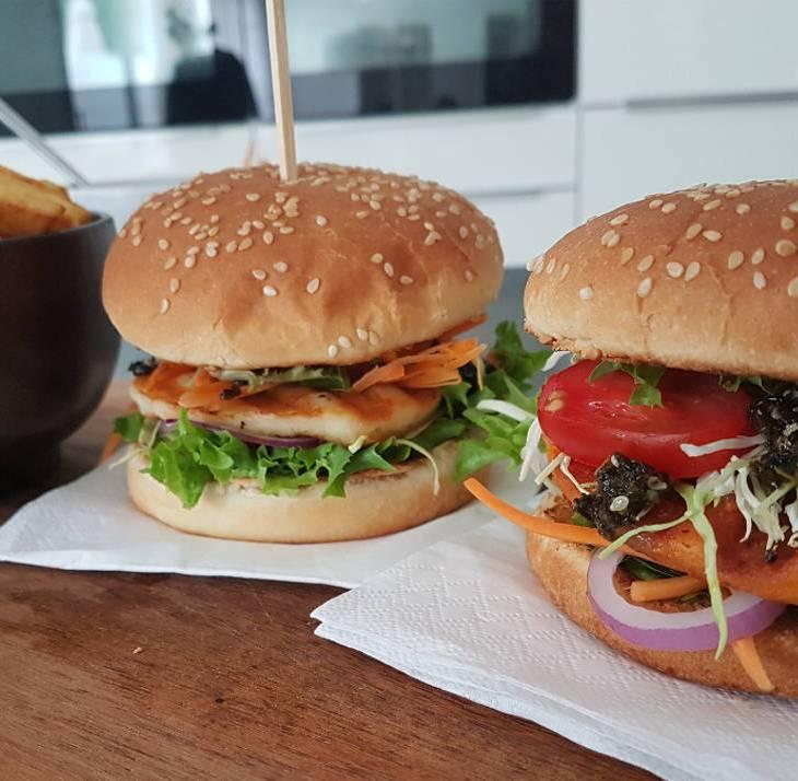 Broodje kaasburger