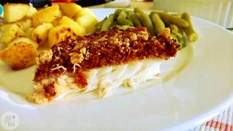 Kabeljauw met een crunchy pestokorst. Een makkelijk receptje uit de oven. Er gaat niets boven een lekker stukje vis.