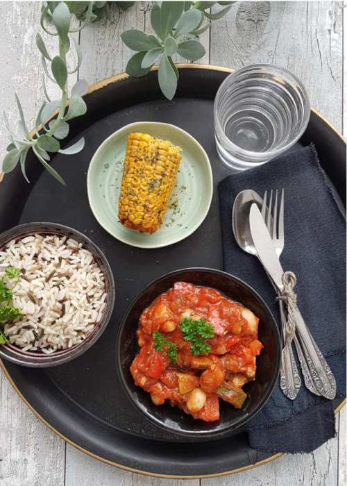 Dat is nog eens prettig! Koken voor 2 dagen: als eerste chili sin carne en voor de volgende dag een pittige Mexicaanse soep.