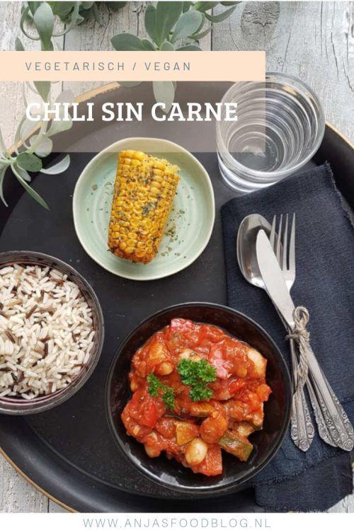 Dat is nog eens prettig! Koken voor 2 dagen: als eerste chili sin carne en voor de volgende dag een pittige Mexicaanse soep.  #chilisincarne #recept #makkelijk