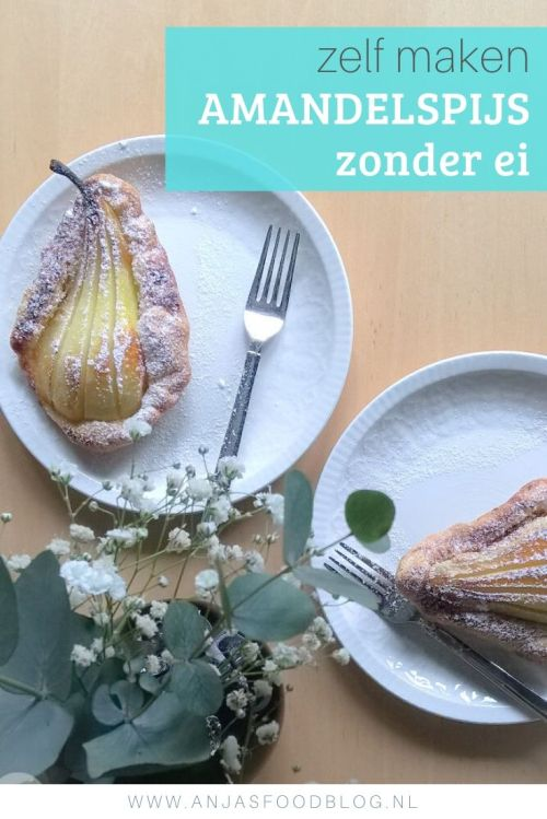 Amandelspijs maar dan in een snelle versie zonder ei (en dus ook vegan). Heel makkelijk en bovendien ook erg lekker in een snel gebakje met peer. Meer inspiratie volgt!