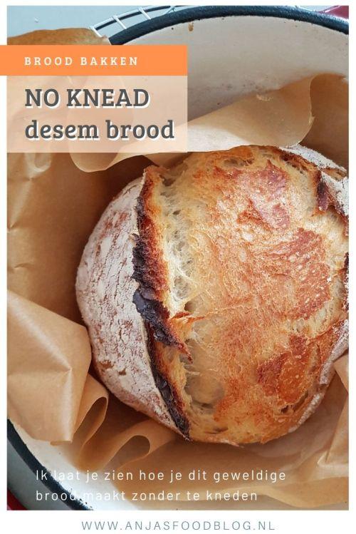No knead zuurdesembrood