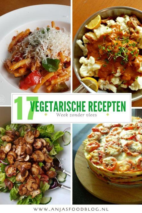 Met volgende week de nationale week zonder vlees in het vooruitzicht, leek het me wel leuk om eens te inventariseren wat de favoriete vegetarische recepten zijn van de bezoekers op mijn blog.
