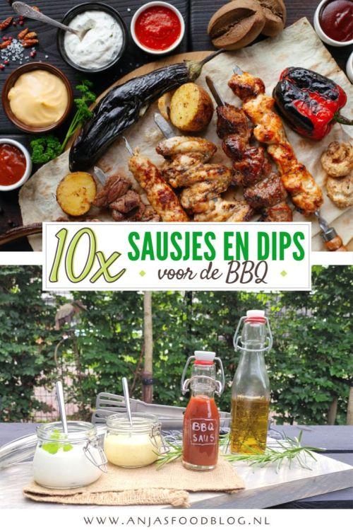 Een barbecue is niet compleet zonder sausjes en dips. Natuurlijk kun je deze ook gemakkelijk zelf maken. Dan zijn ze gezonder en smaken veel beter dan sausjes uit een flesje. We hebben de 10 lekkerste sausjes en dips voor je op een rijtje gezet.
