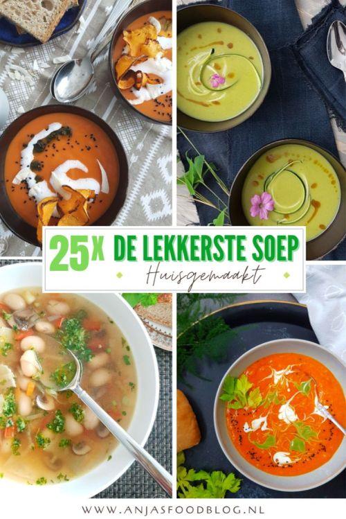 Soep doet het altijd goed, of het nu als maaltijdsoep, een voorgerecht of tussendoortje is... Daarom heb ik mijn soeprecepten op een rijtje gezet. Wat is jouw favoriete soep?